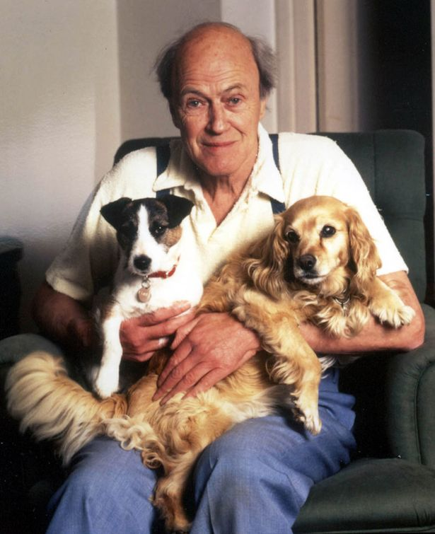 Writer+Roald+Dahl+whose+dark+tales+have+thrilled+youngsters+and+adults+for+two+generations_1