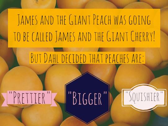 Roald Dahl 100 fact