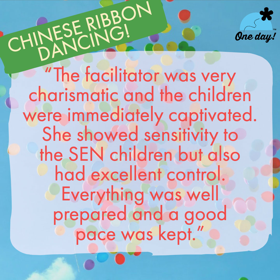 Half term feedback One Day Creative Chinese Ribbon
