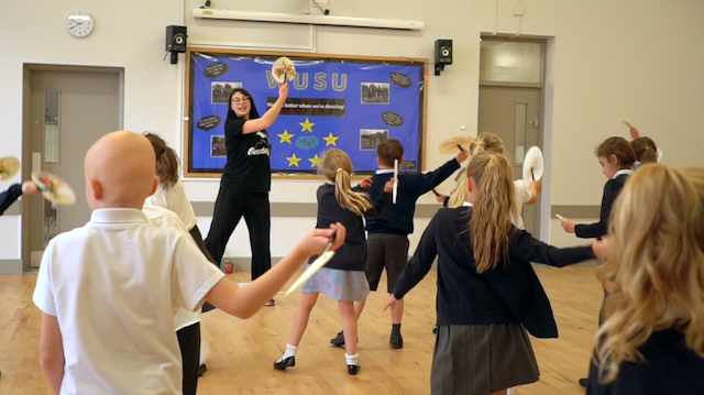 Olympic workshops in schools by One Day Creative