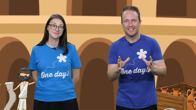 Online teaching resources with One Day Creative: Romans video workshop