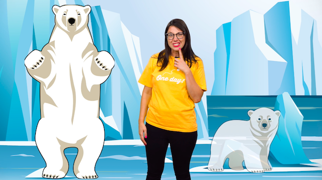 Sing about the Arctic and Antarctic in this polar explorers KS1 song
