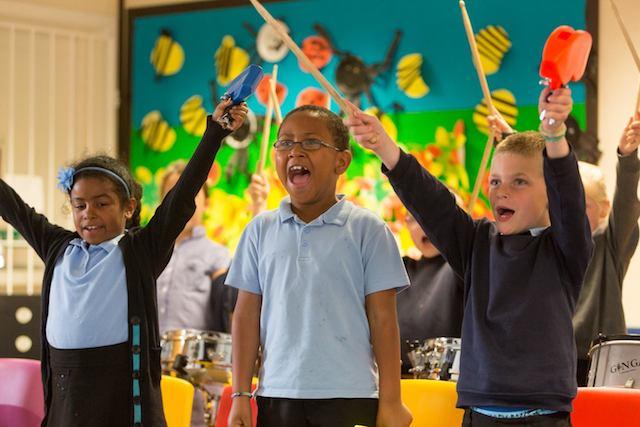 Brazilian Samba Drumming workshop for primary schools