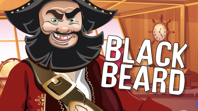 Famous pirates: Blackbeard song on Uno